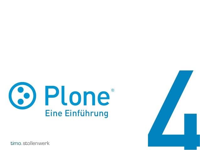 Plone Einführung