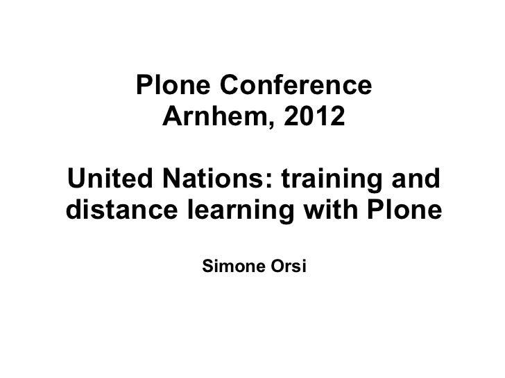Ploneconf2012 talk