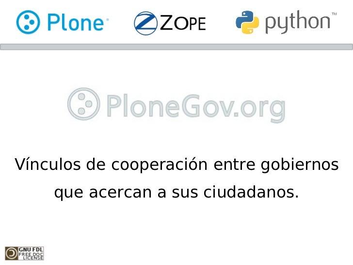 Plonegov - Vínculos de cooperación entre gobiernos que acercan a sus ciudadanos - v0.1.3