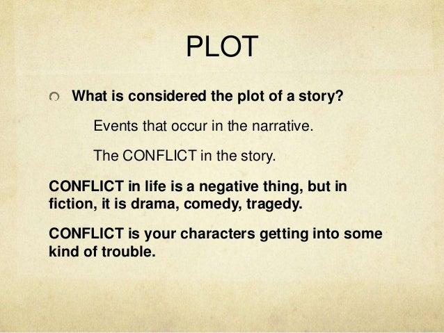 Writing plots