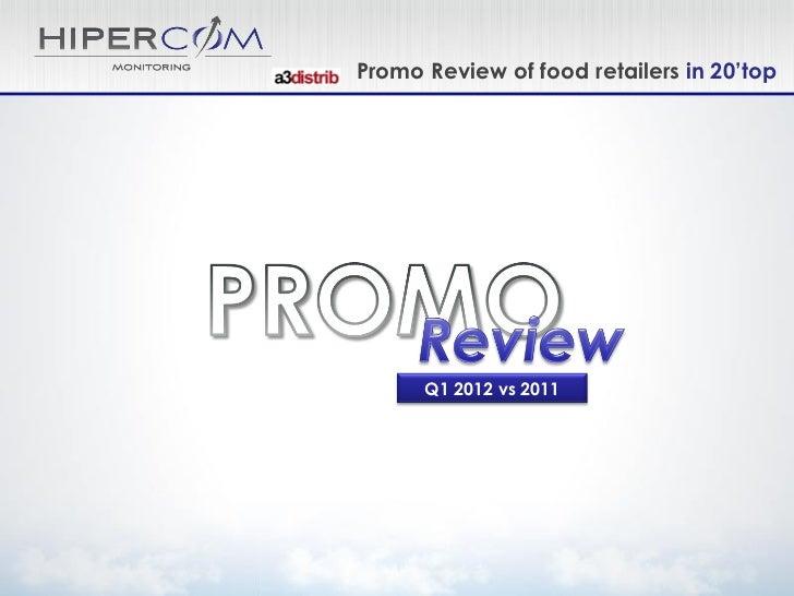Pl promo review Q1 12 vs 11