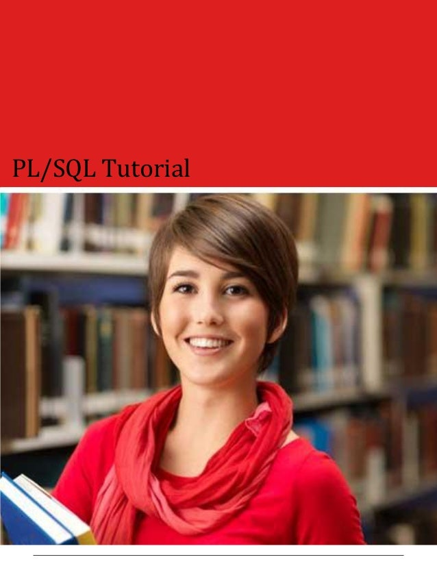 PL/SQL Tutorial