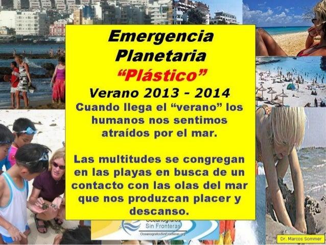 Plástico océanos emergencia planetaria