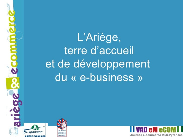 L'Ariège, terre d'accueil et de développement  du «e-business»