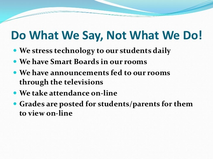 "Students are ""Plugged In"" R Teachers?"