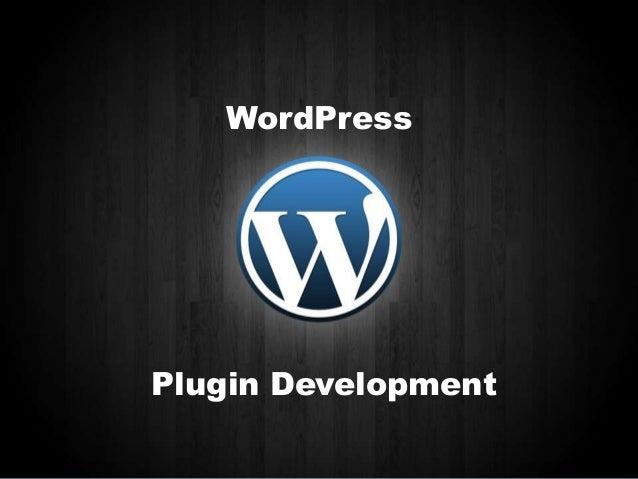 Plug in development