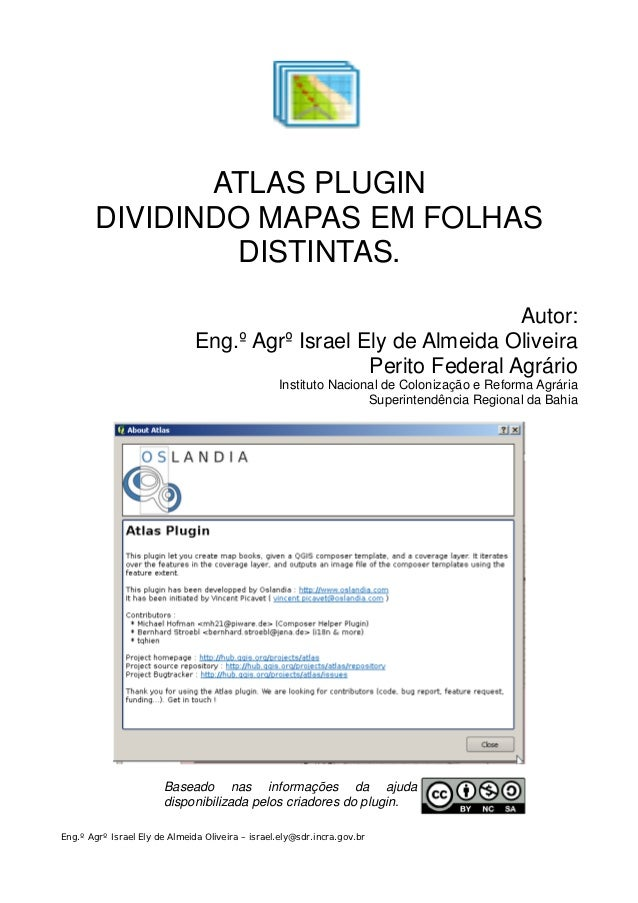 Plugin qgis atlas