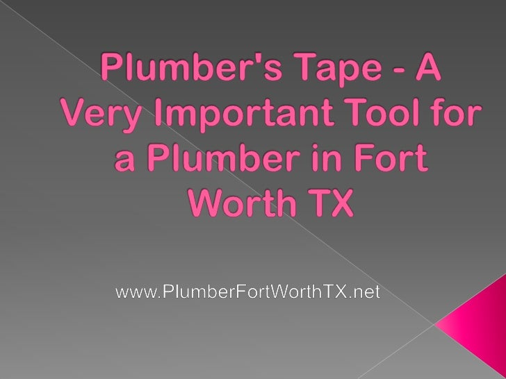 There are a lot of tools that a plumber needswhenever he is fixing broken plumbing system,and one of these is the so-calle...