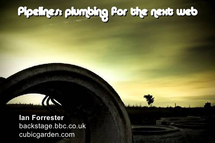 plumbing for the next web