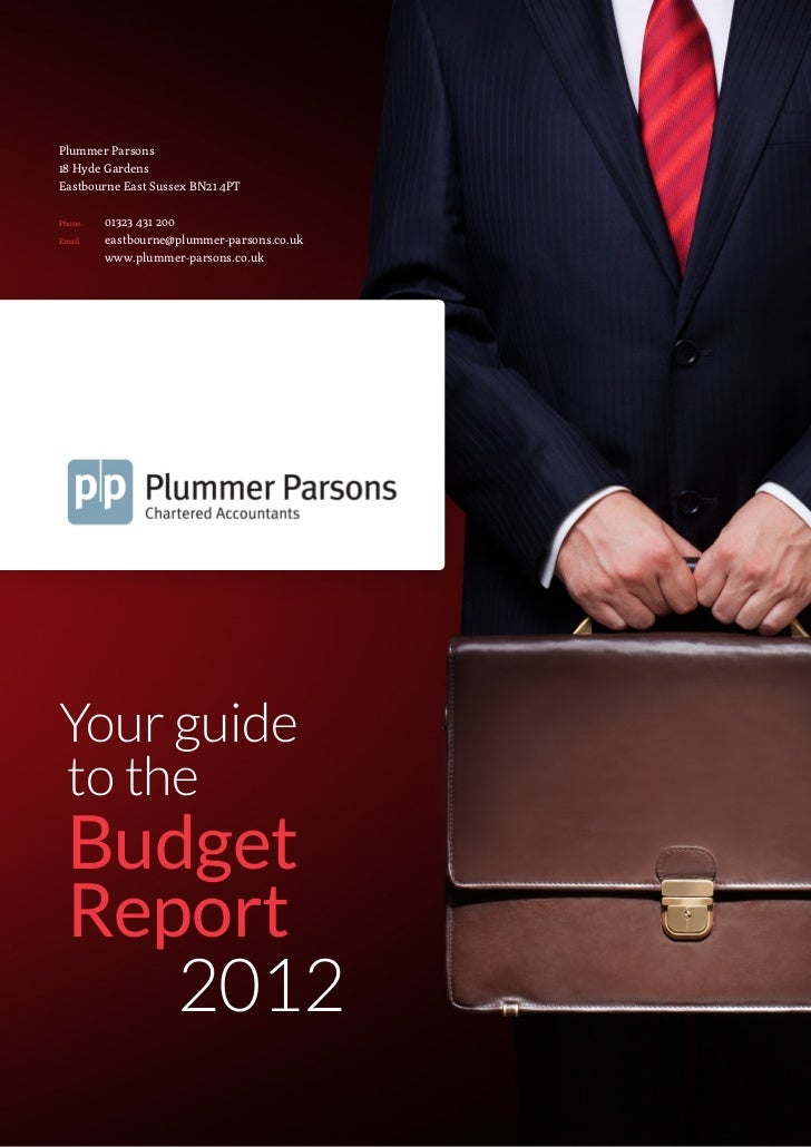 The Budget Report March 2012