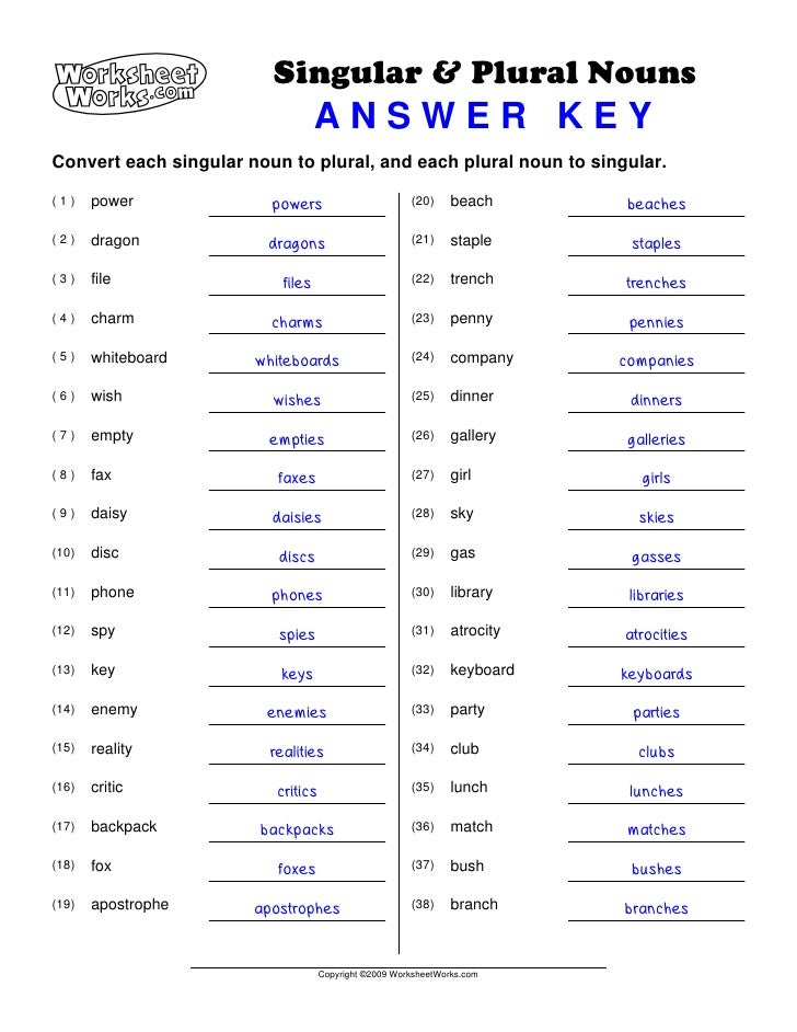 ... possessive nouns worksheets plural noun : Singular Possessive Noun