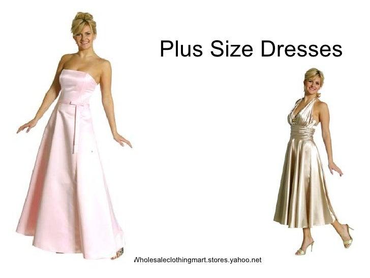 Plus Size Dresses Wholesaleclothingmart.stores.yahoo.net