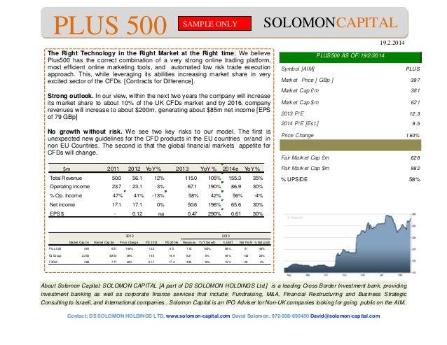 About Solomon Capital: SOLOMON CAPITAL [A part of DS SOLOMON HOLDINGS Ltd.] is a leading Cross Border Investment bank, pro...