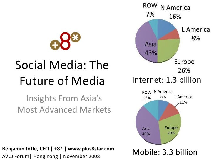 Social Media: The       Future of Media                           Internet: 1.3 billion         Insights From Asia's      ...