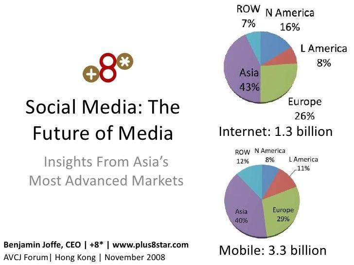 Social Media - The Future of Media