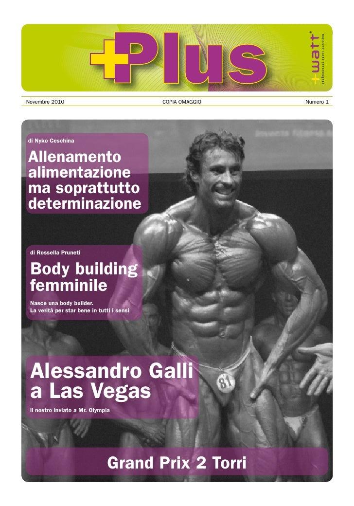 +Plus magazine numero 1