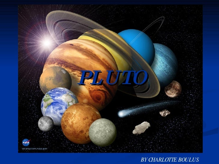 PLUTO BY CHARLOTTE BOULUS