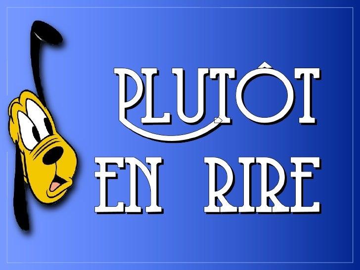 Plutot En Rire