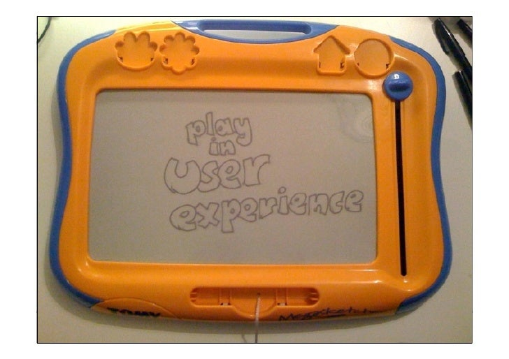 Play in User Experience