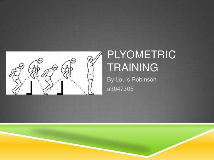 Plyometric Strength Training