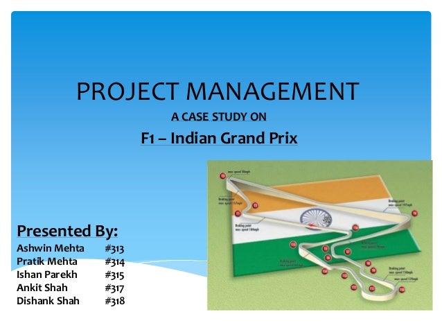 Indian Grand Prix - Project Management