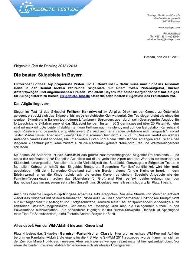 Tourispo GmbH und Co. KG                                                                                                 G...