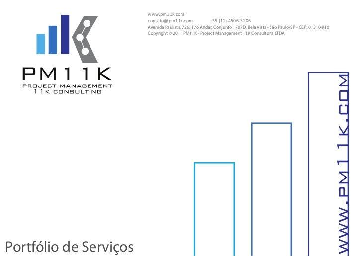 Pm11 k consulting ltd   portfólio de serviços