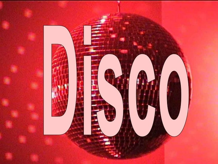 """Disco• The term """"disco"""" was first used in  post-World War II France when clubs  began playing recorded dance music  rather..."""