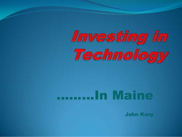 ………In Maine       John Karp