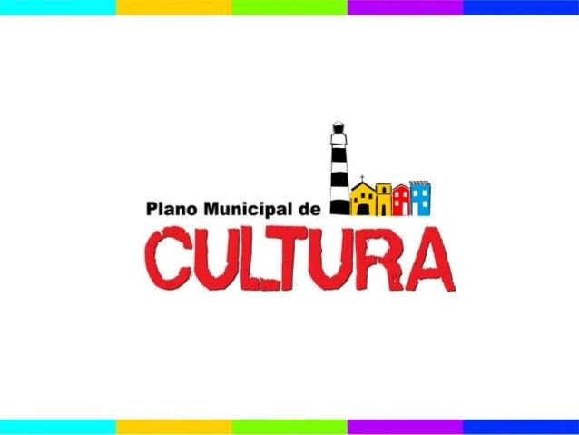 Plano Municipal de Cultura de Olinda -