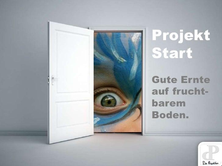 ProjektStartGute Ernteauf frucht-baremBoden.