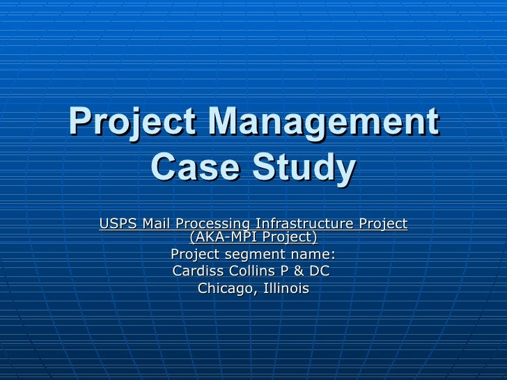 pm case study Pmp project managers who want to gain insights into agile project management framework with practical learning and real projects case studies.