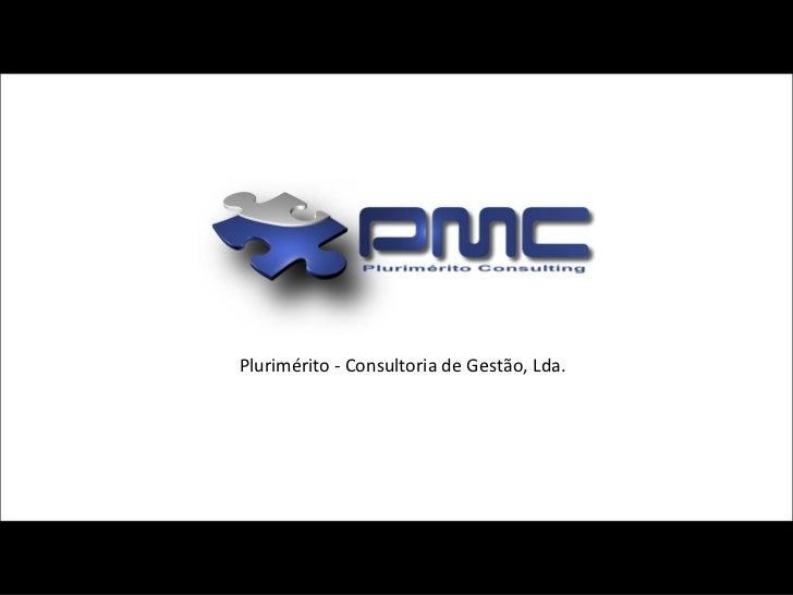 Plurimérito - Consultoria de Gestão, Lda.