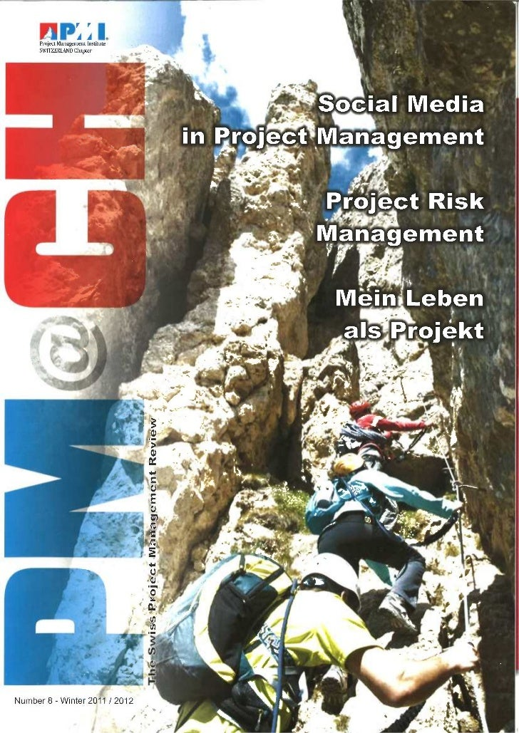 Social Media In Project Management Swiss PM Magazine Pm@CH 8th Edition