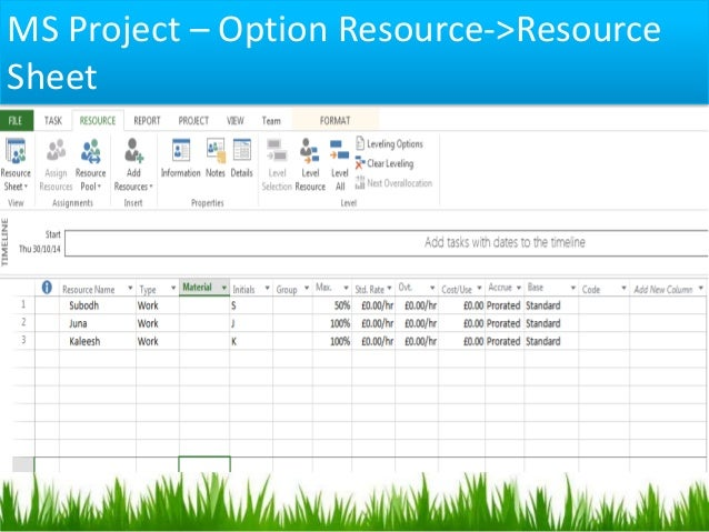 Resource Management using Excel  7 Template Downloads