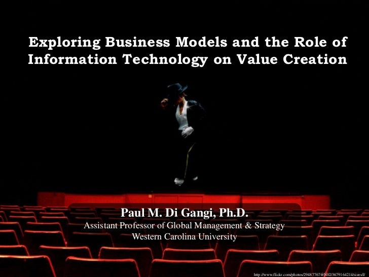 Exploring Business Models & Value Creation