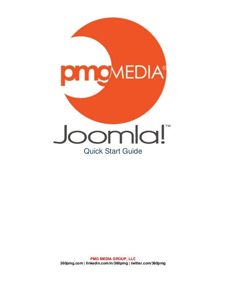Quick Start Guide                PMG MEDIA GROUP, LLC360pmg.com | linkedin.com/in/360pmg | twitter.com/360pmg