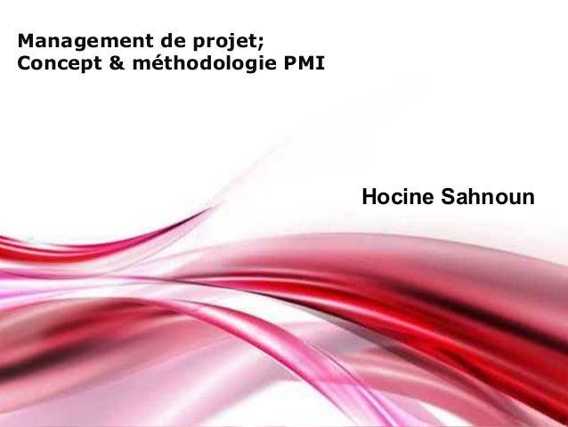 Pour plus de modèles : Modèles Powerpoint PPT gratuits Page 1 Free Powerpoint Templates Management de projet; Concept & mé...