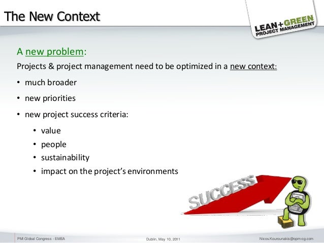 lean project sustainability project management The focus of eurofins lean projects is on sustainable change, not only on  project management of lean project: create and implement project.