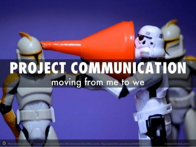 Improving your Project Communications