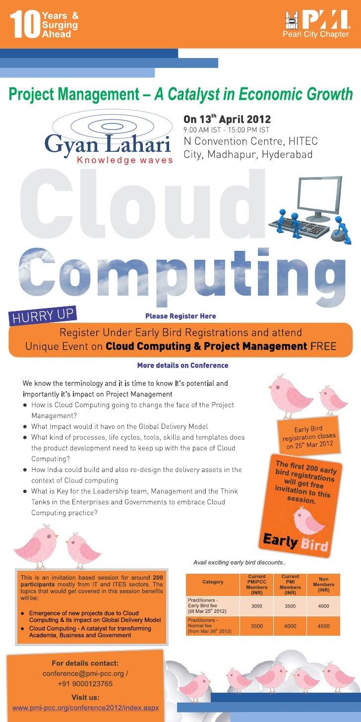 PMI PCC Conference2012 - CloudComputing Teaser