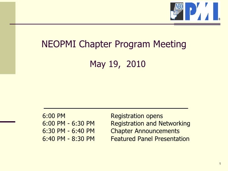 Pmineo chapter meeting template, v5 (051810)