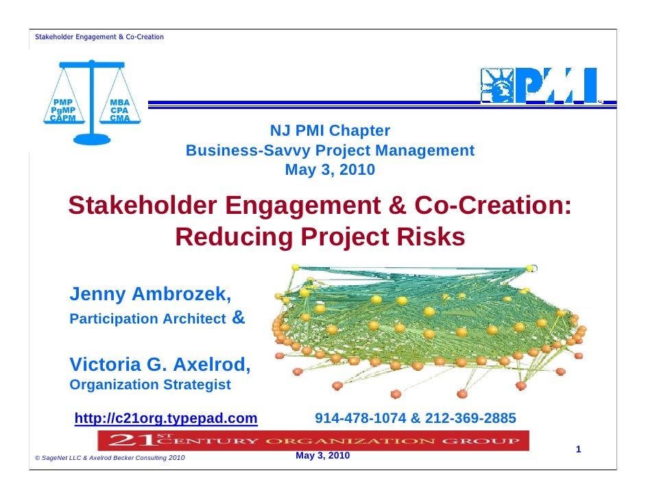 Stakeholder Engagement & Co-Creation                          Co-                                                         ...