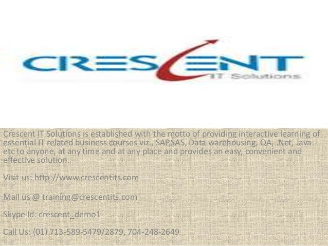 Crescent IT Solutions Received Valuable Testimonial on PMI PMP Online Training Course