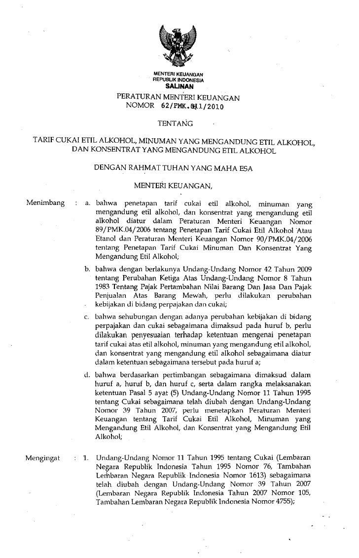 MENTERIKEUANGAN                                  . REPU6UK INDONESIA                                        SAlINAN       ...