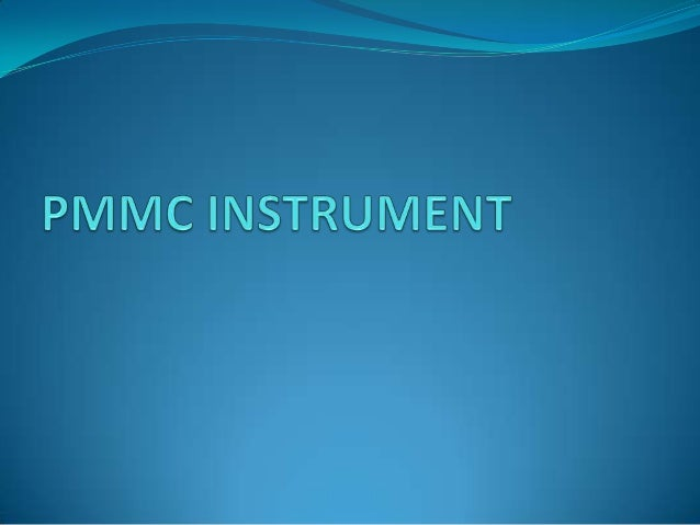  Construction of PMMC Instruments  The constructional features of this instrument are shown in Fig.  The moving coil is...