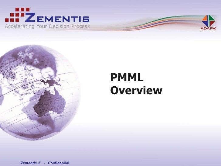 PMML - Predictive Model Markup Language