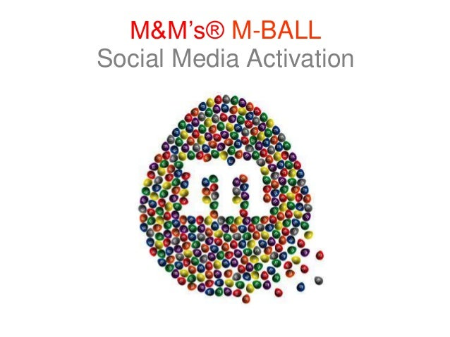 M&M's® M-BALL Social Media Activation