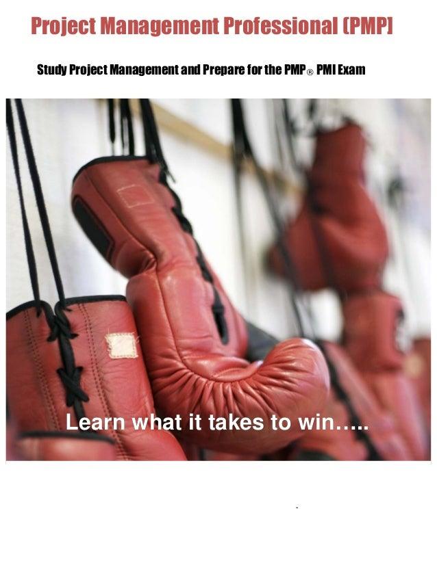Pmp   pmi - training - project management certificate programme