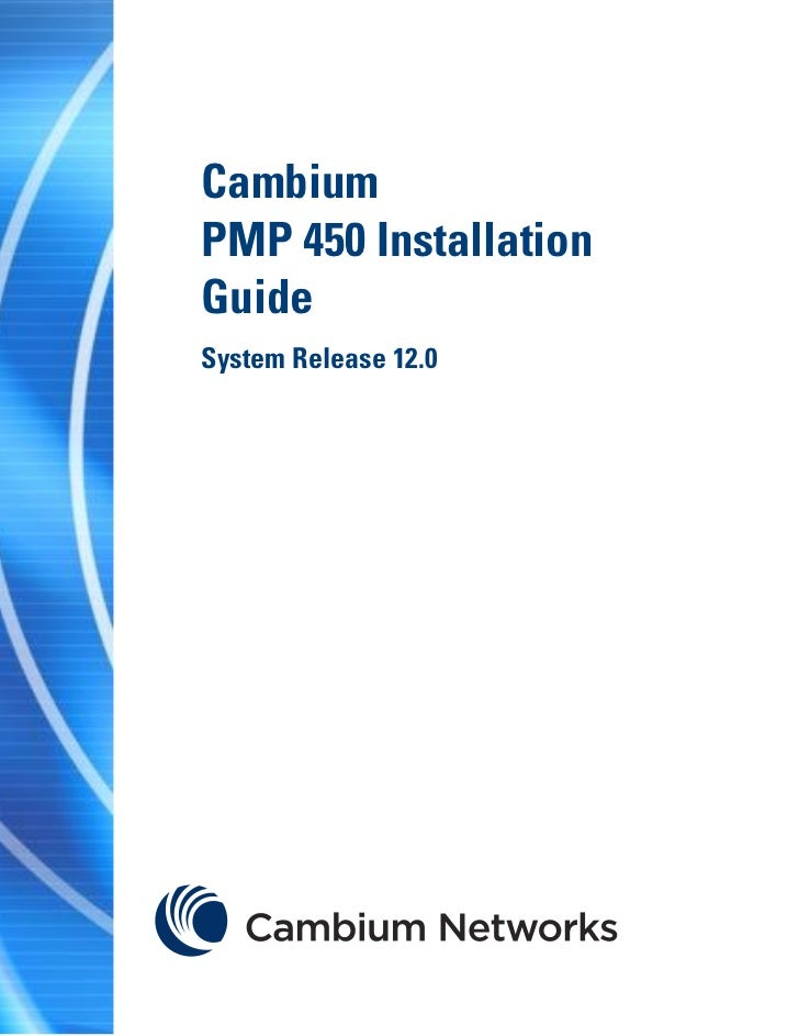 Pmp 450 installation_guide